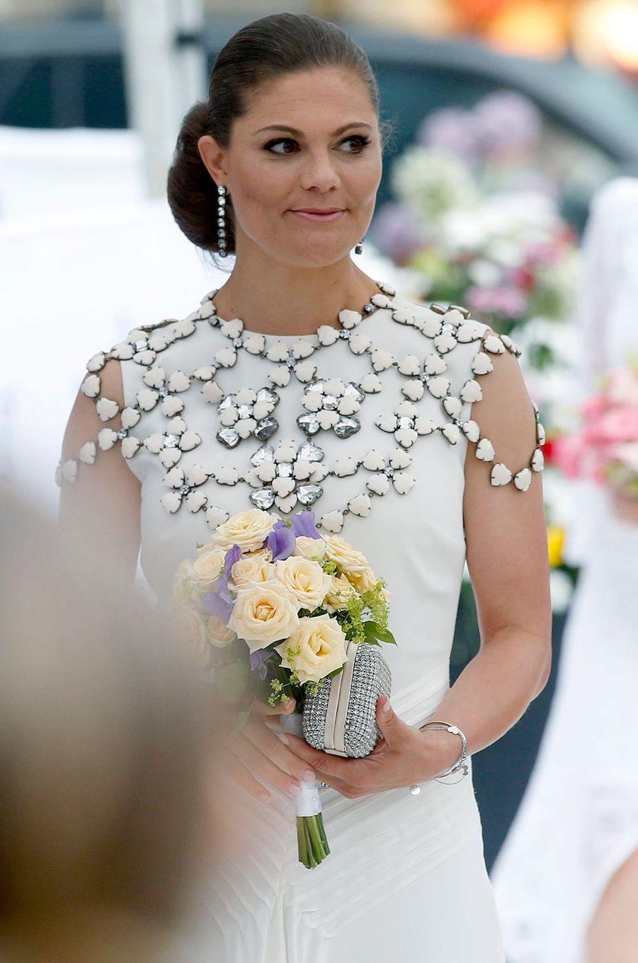 La princesse Victoria de Suède à Stockholm, le 16 juin 2016