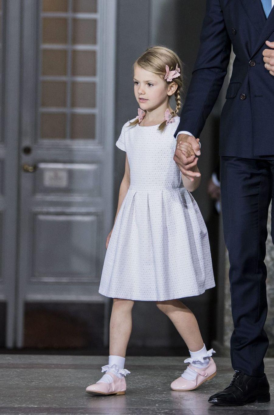 La princesse Estelleaux 40 ans de la princesse Victoria, le 14 juillet 2017.