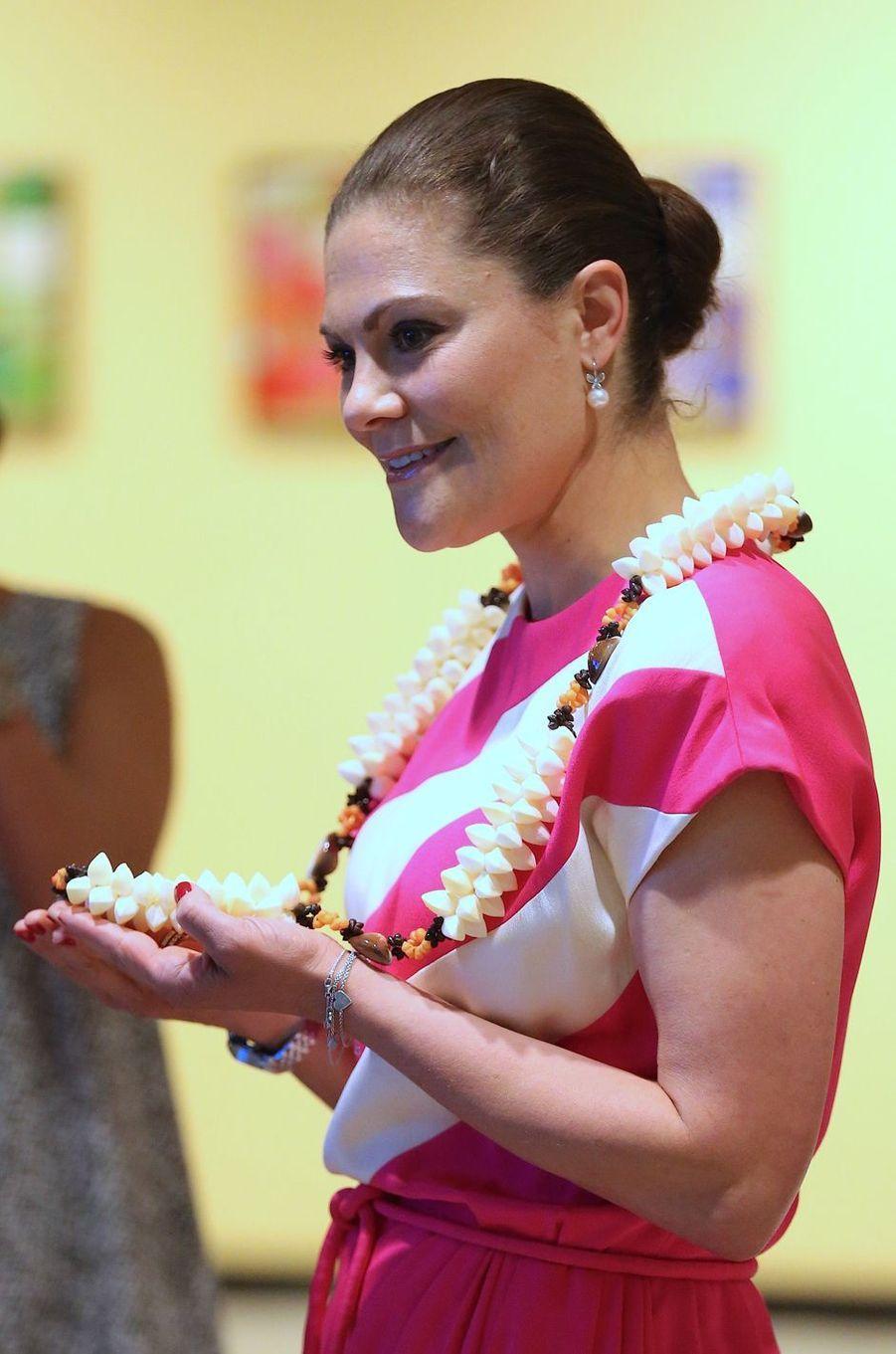 La princesse Victoria de Suède à New York, le 9 juin 2017