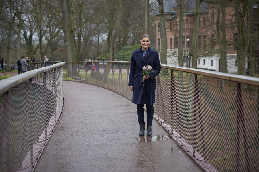 La princesse Victoria de Suède à Helsingborg, le 16 janvier 2019