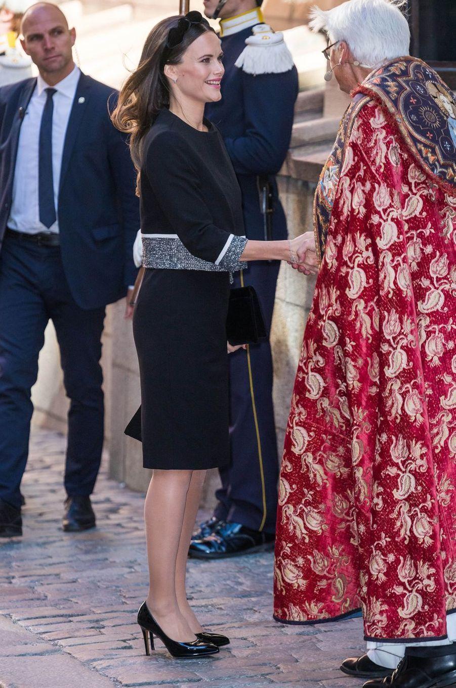 La princesse Sofia de Suède à Stockholm, le 25 septembre 2018