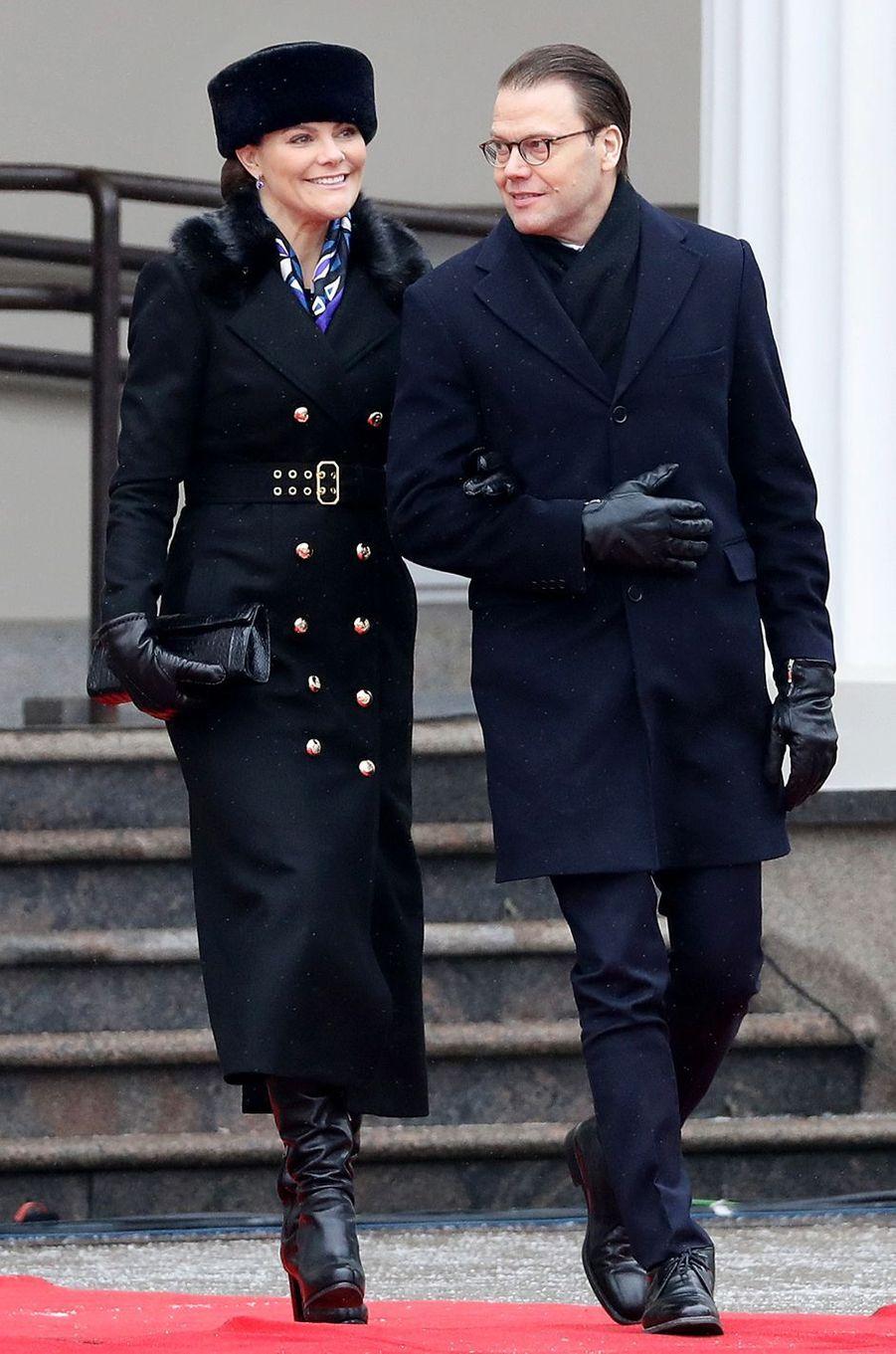 La princesse Victoria de Suède le 16 février 2018