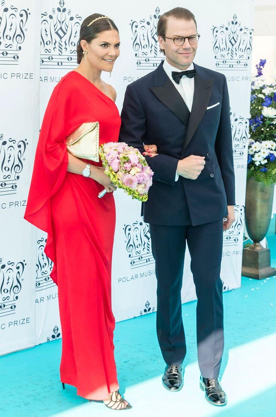 La princesse Victoria de Suède le 14 juin 2018