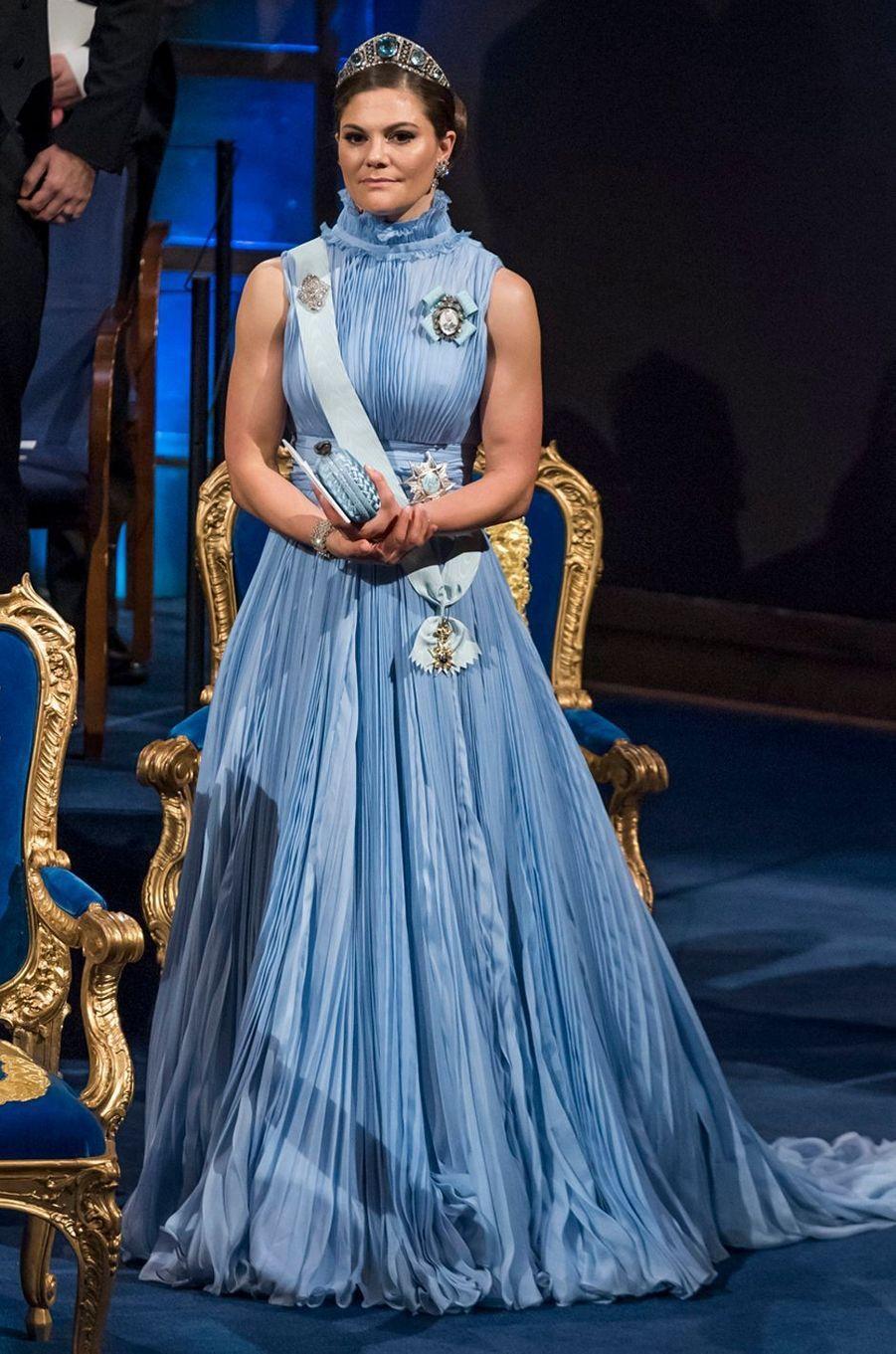 La princesse Victoria de Suède le 10 décembre 2017