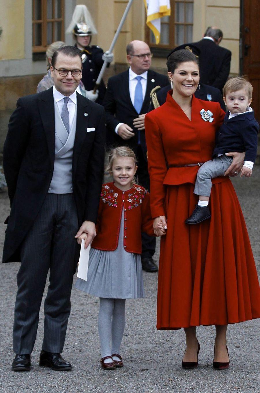 La princesse Victoria de Suède le 1er décembre 2017