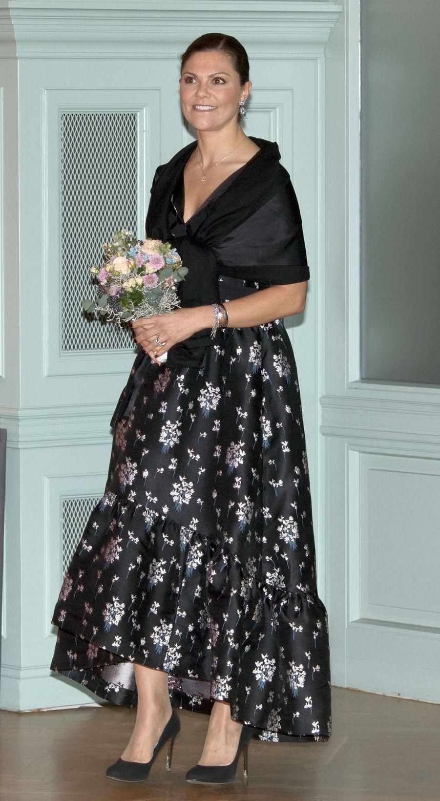 La princesse Victoria de Suède le 23 novembre 2017