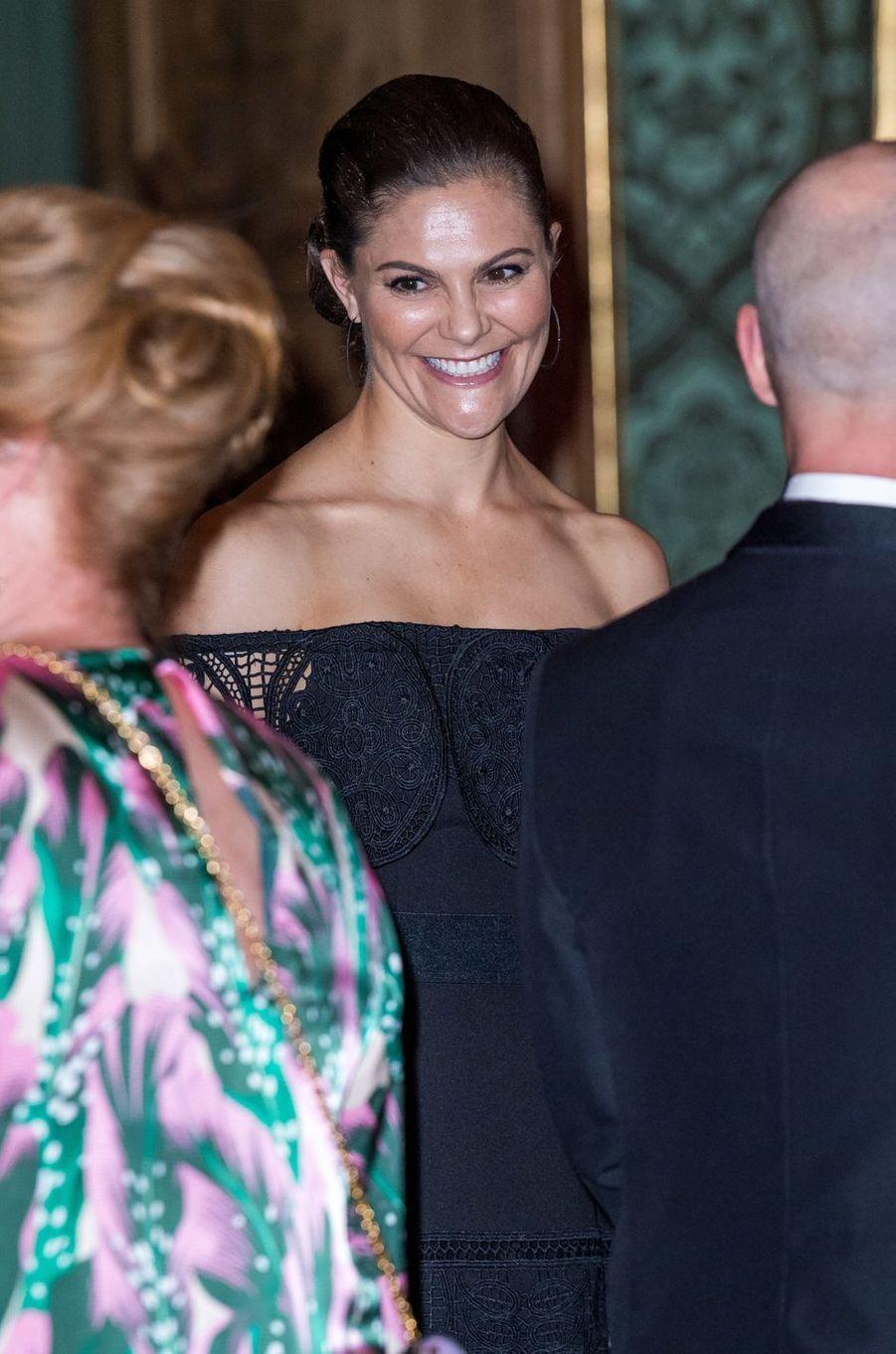 La princesse Victoria de Suède à Stockholm, le 14 septembre 2018