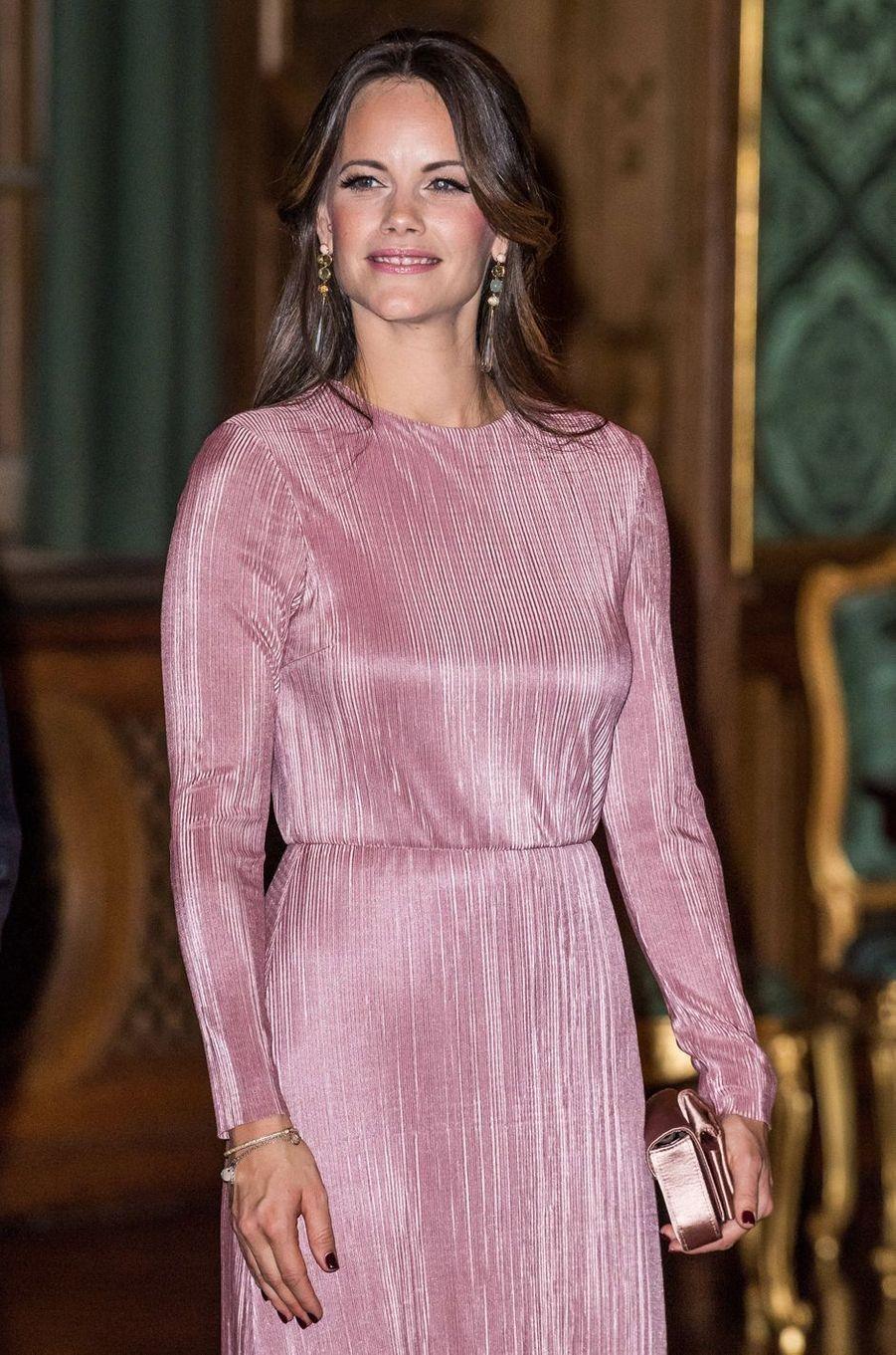 La princesse Sofia de Suède à Stockholm, le 14 septembre 2018