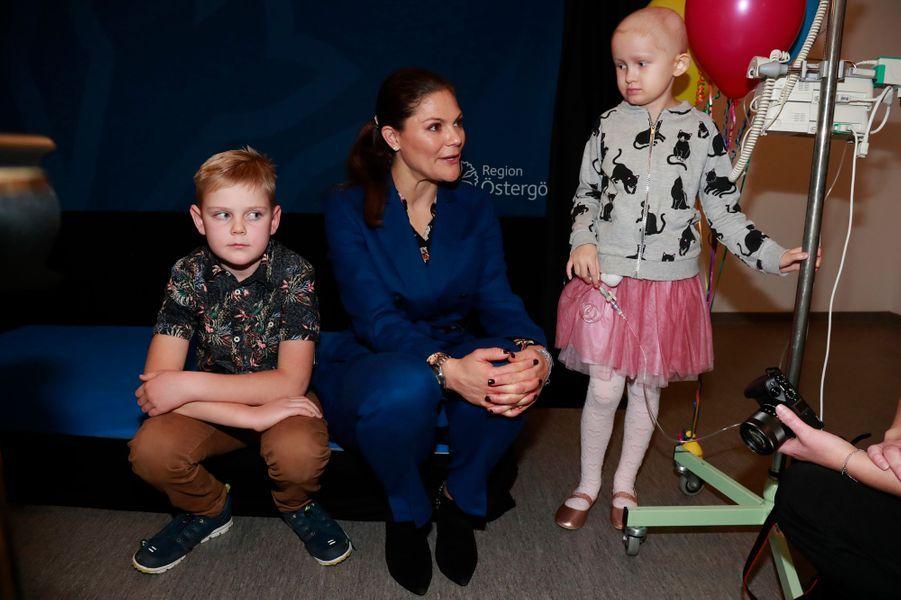 La princesse Victoria de Suède à Linköping, le 26 octobre 2017