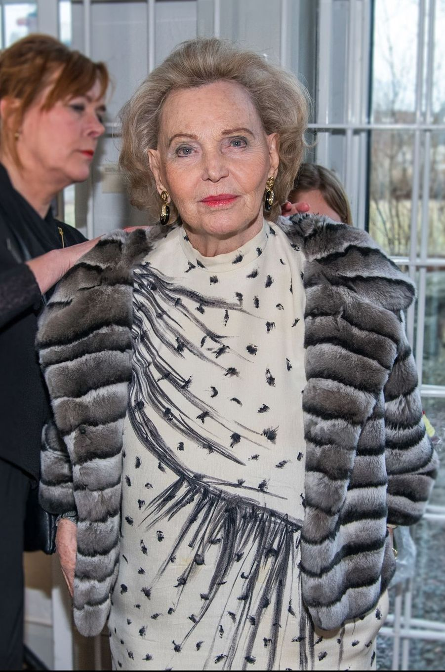 La comtesse Marianne Bernadotte à Stockholm, le 16 mars 2017