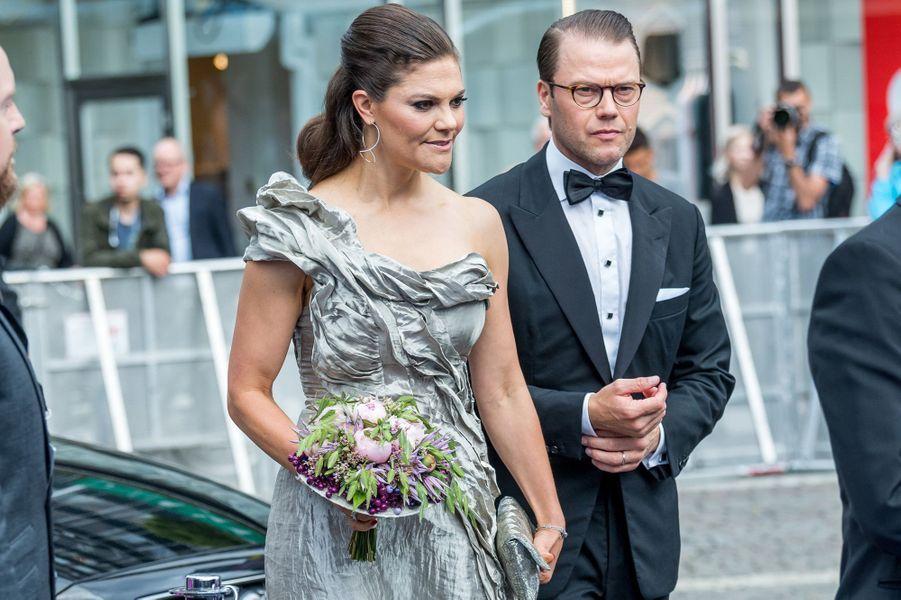 La princesse Victoria et le prince Daniel de Suède à Stockholm, le 15 juin 2017