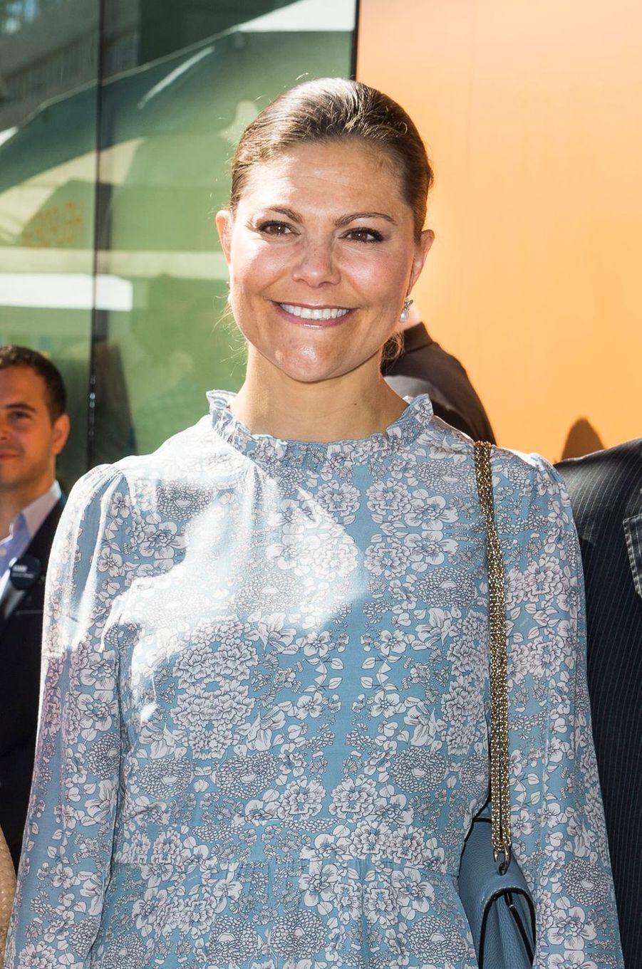 La princesse Victoria de Suède à Stockholm, le 13 juin 2016