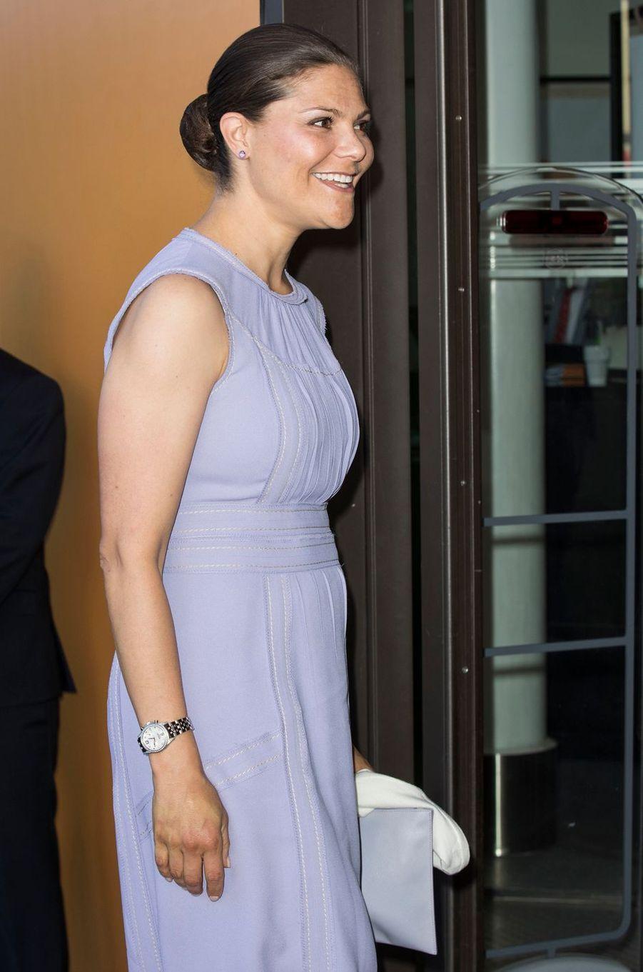 La princesse Victoria de Suède à Stockholm, le 14 juin 2016