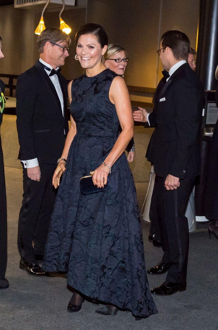 La princesse Victoria de Suède et son mari le prince consort Daniel à Stockholm, le 14 novembre 2017