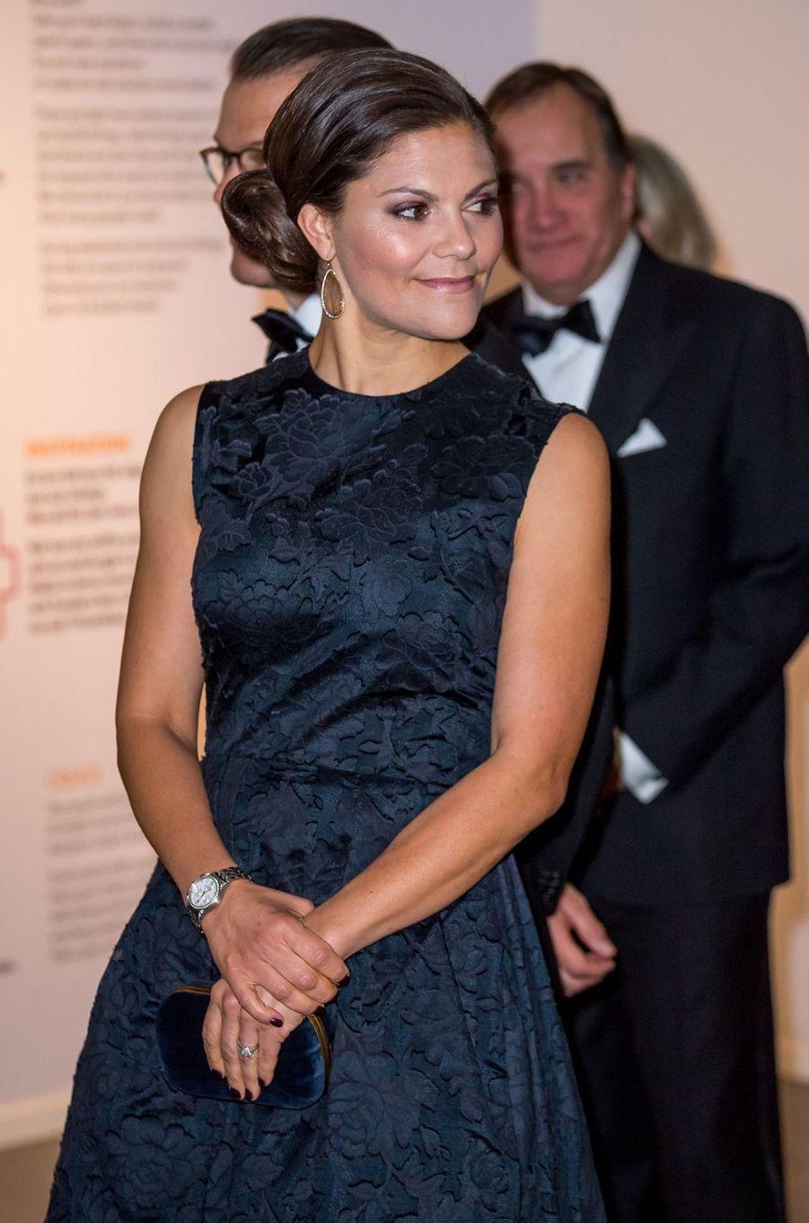La princesse Victoria de Suède à Stockholm, le 14 novembre 2017