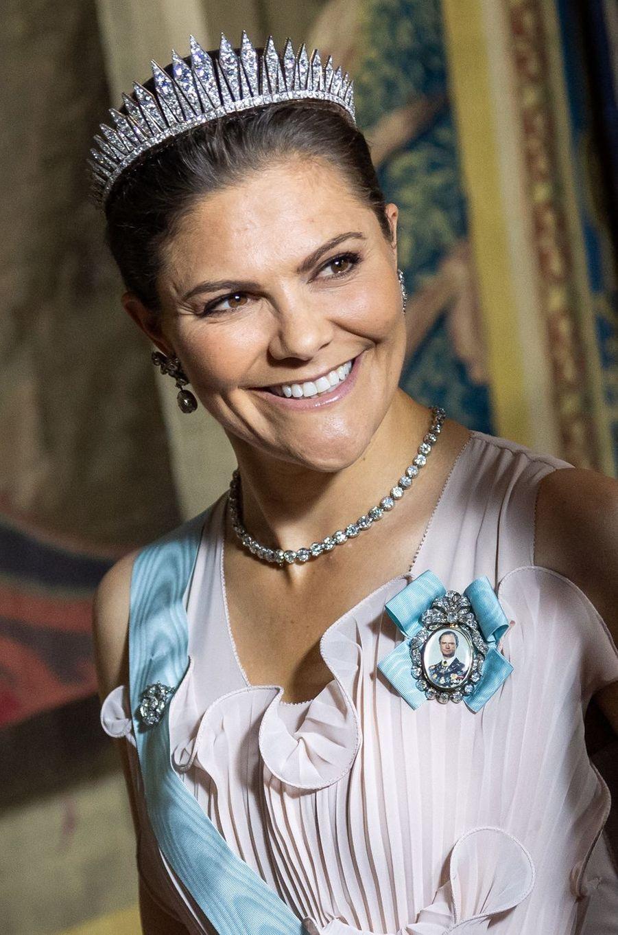 La princesse Victoria de Suède à Stockholm, le 31 mai 2018