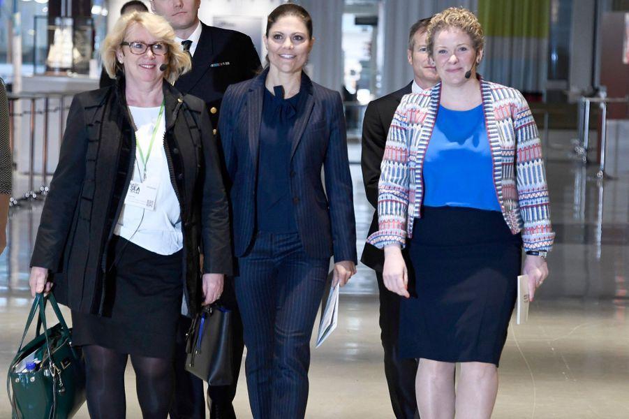 La princesse Victoria de Suède va lancer la conférence Baltic Sea Future à Stockholm, le 6 mars 2017