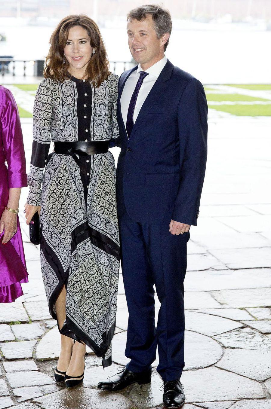La princesse Mary et le prince Frederik de Danemark à Stockholm, le 30 mai 2017