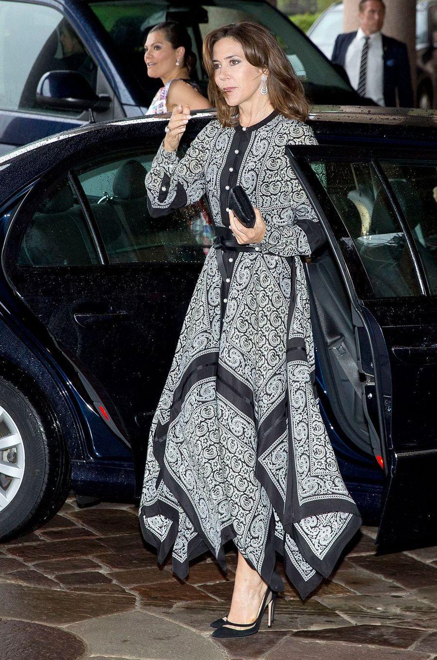 La princesse Mary de Danemark à Stockholm, le 30 mai 2017
