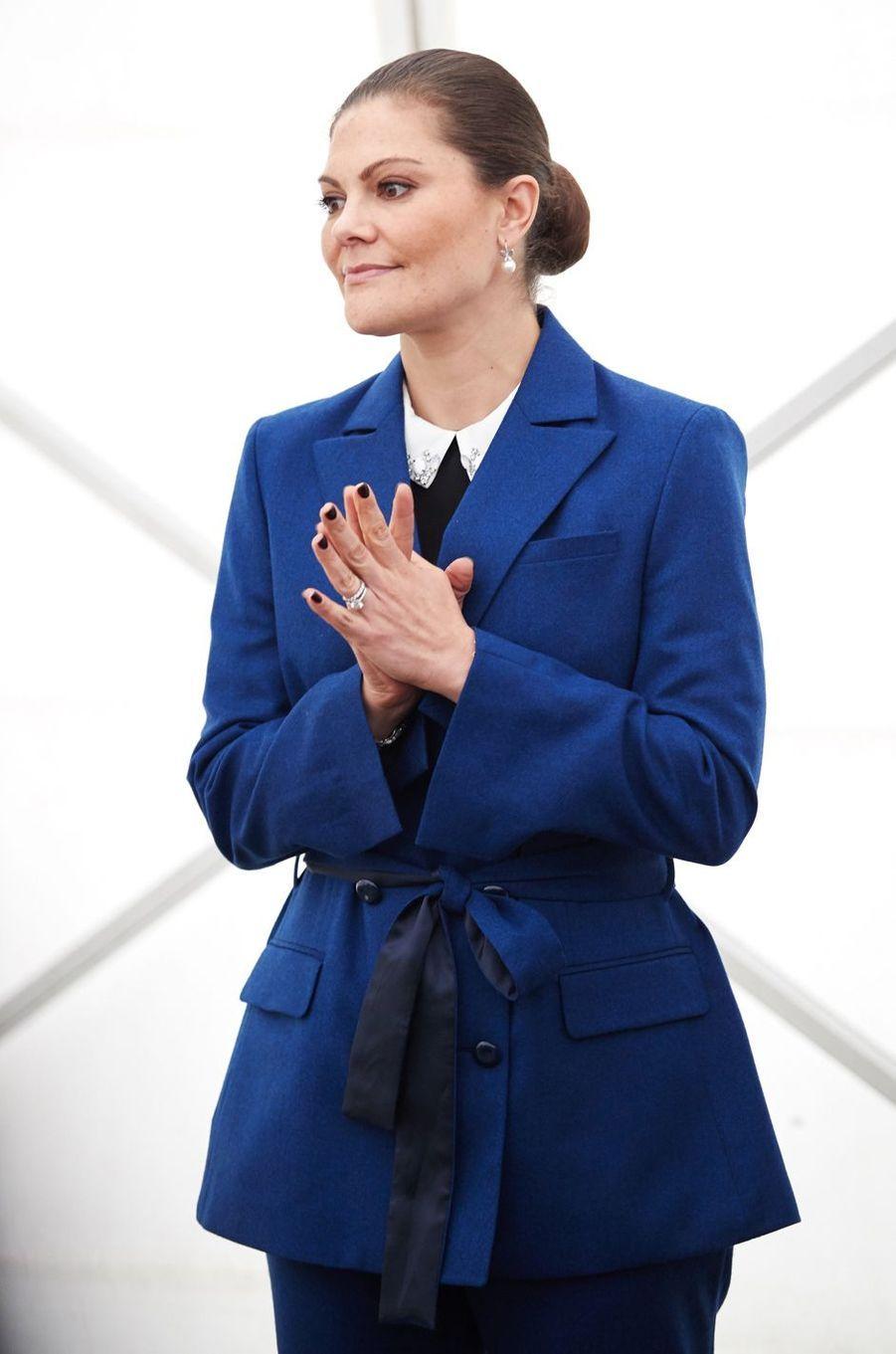 La princesse Victoria de Suède à Malmö, le 11 octobre 2017