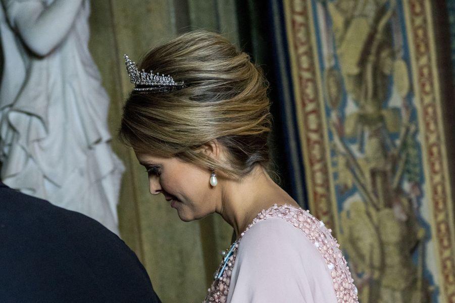 La princesse Madeleine de Suède à Stockholm, le 11 décembre 2017