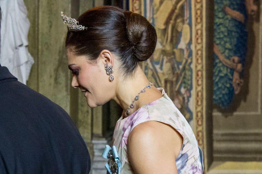 La princesse Victoria de Suède à Stockholm, le 11 décembre 2017