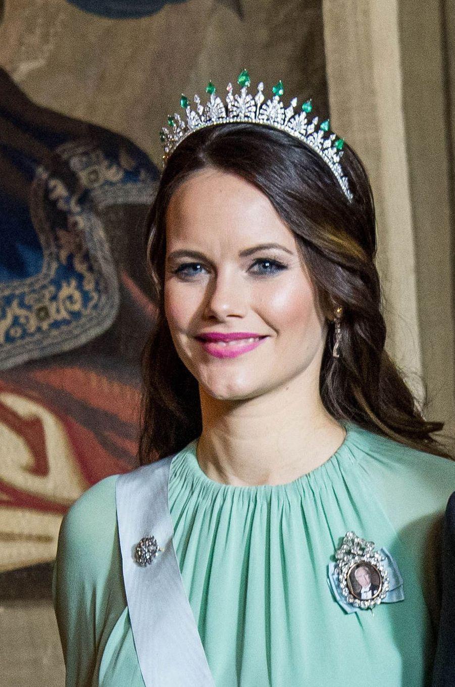La princesse Sofia de Suède à Stockholm, le 11 décembre 2017