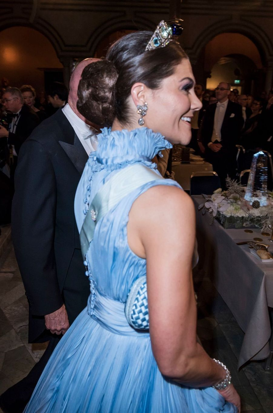La princesse Victoria de Suède à Stockholm, le 10 décembre 2017