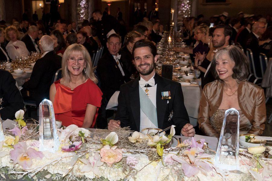 Le prince Carl Philip de Suède à Stockholm, le 10 décembre 2017