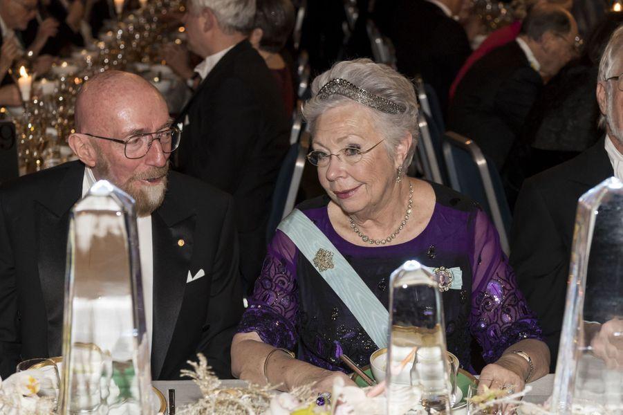 La princesse Christina de Suède à Stockholm, le 10 décembre 2017