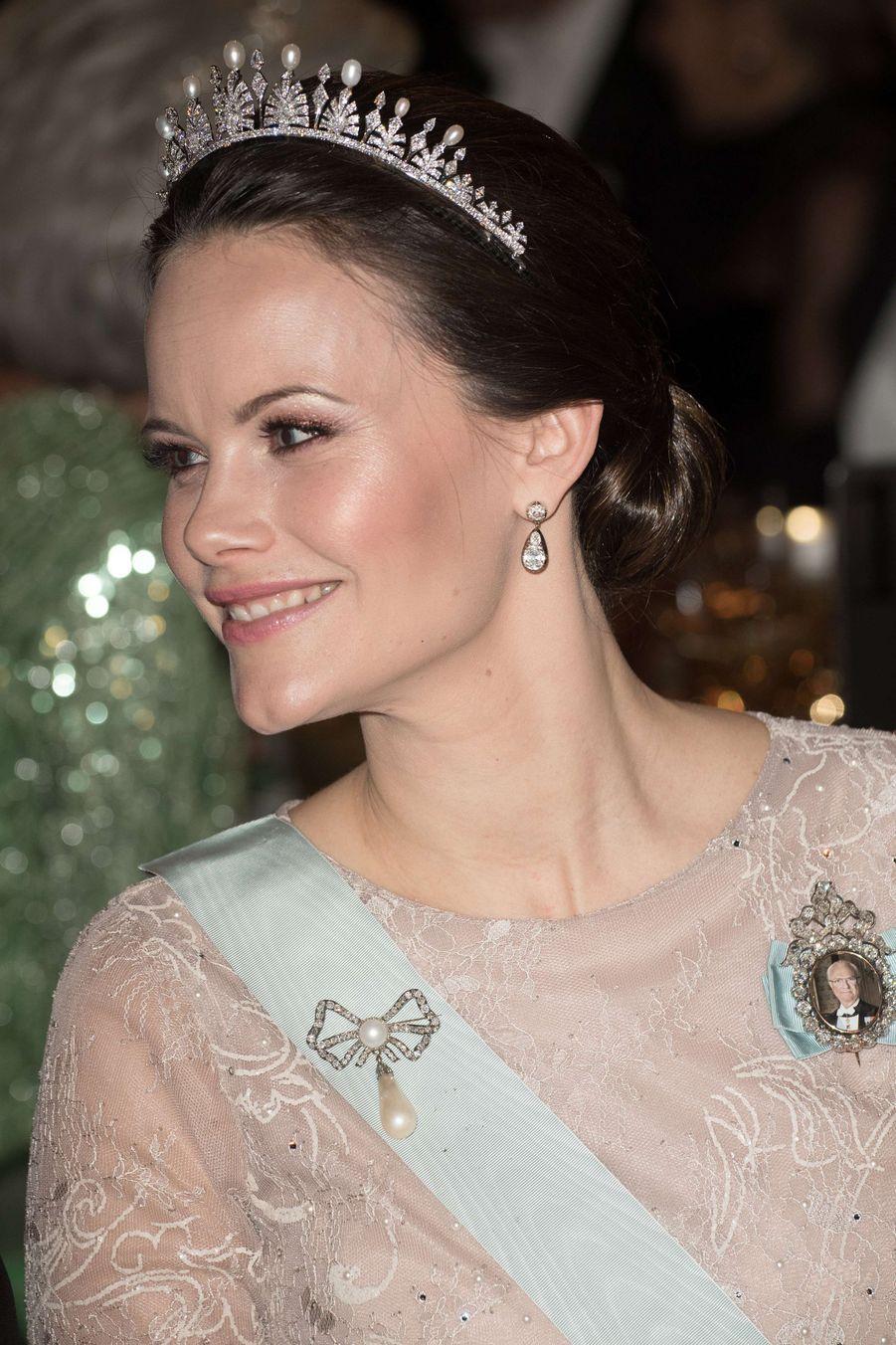 La princesse Sofia de Suède à Stockholm, le 10 décembre 2017