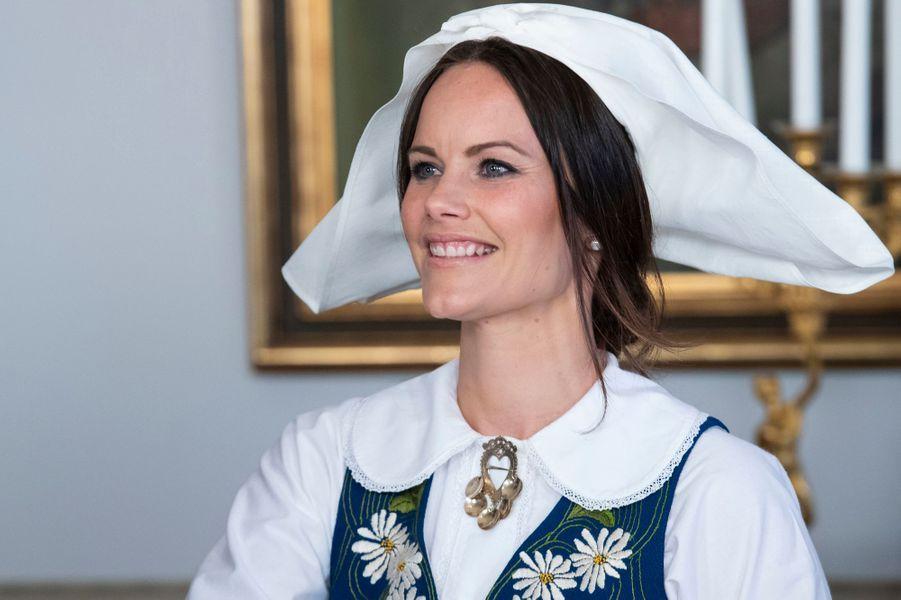 La princesse Sofia de Suède à Stockholm, le 6 juin 2018