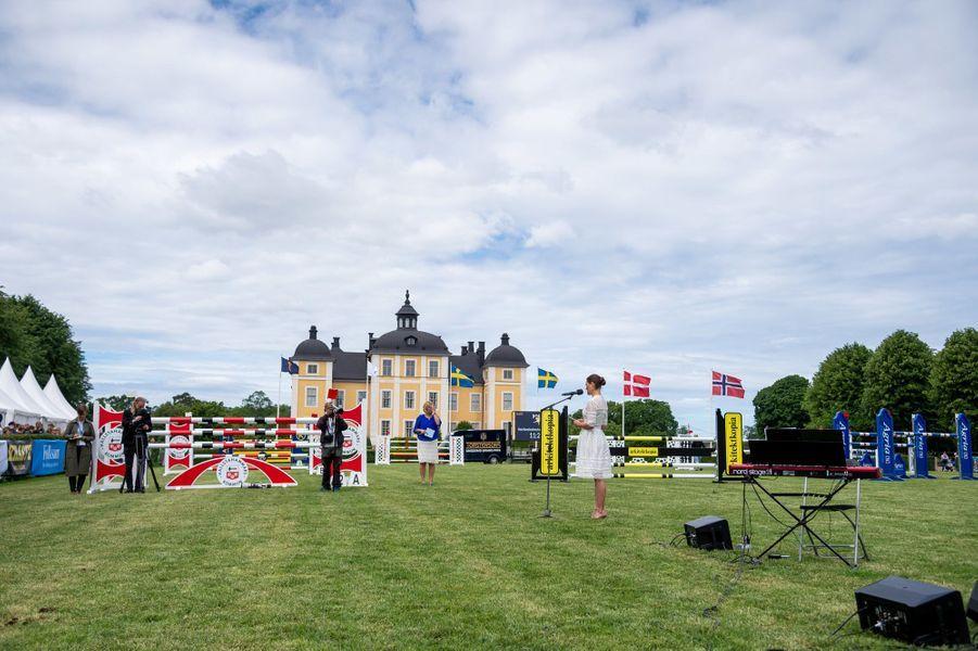 La princesse Victoria de Suède à Strömsholm, le 6 juin 2018