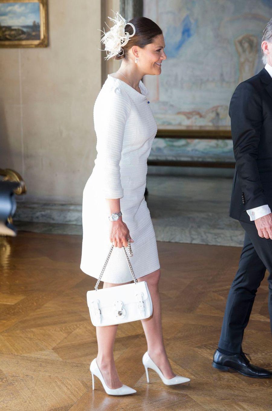 La princesse Victoria de Suède à Stockholm, le 11 mai 2016