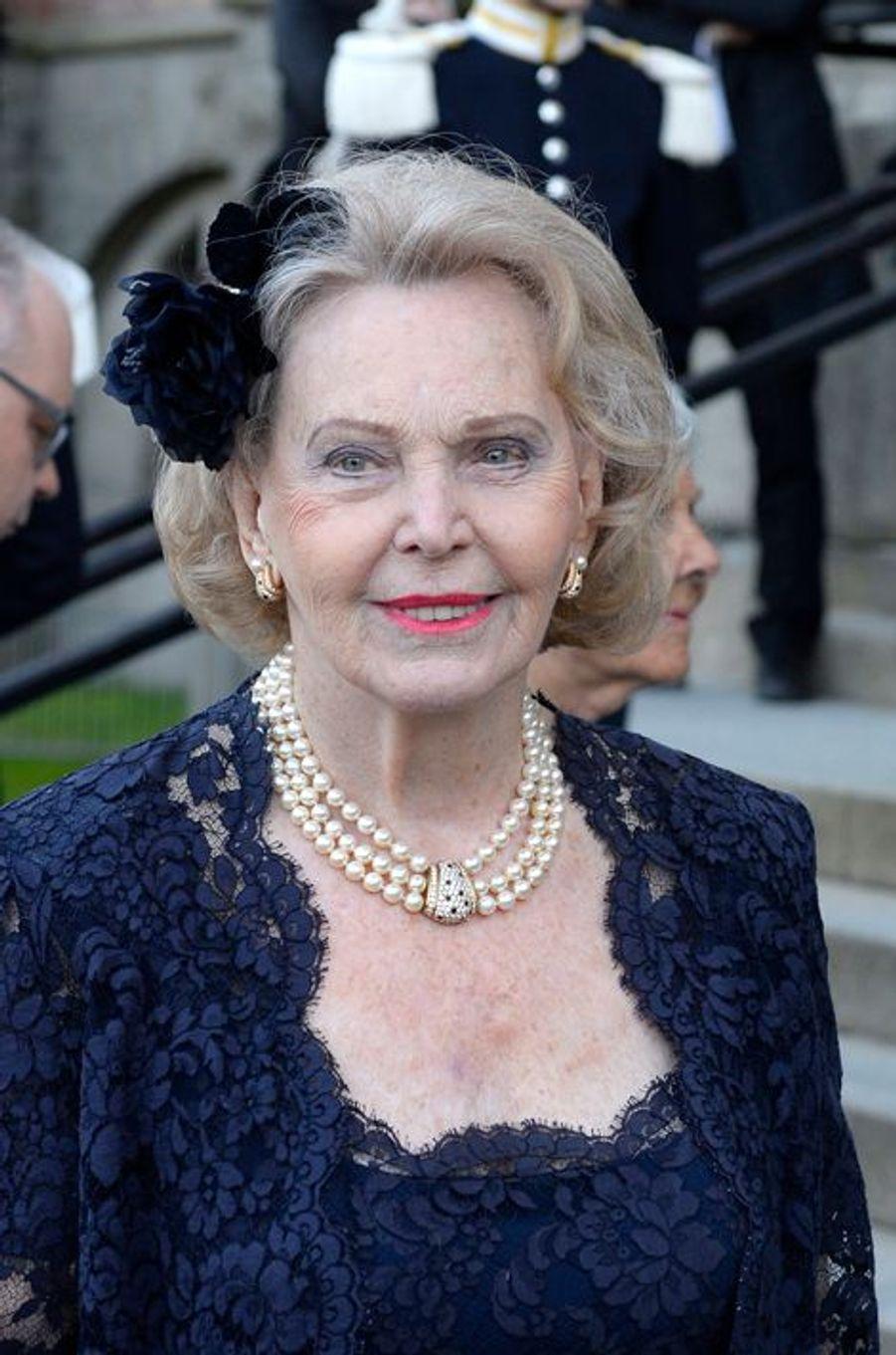 La comtesse Marianne Bernadotte à Stockholm, le 29 avril 2016