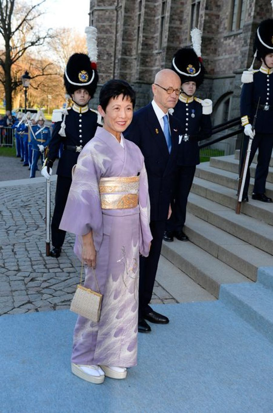 La princesse Takamado du Japon à Stockholm, le 29 avril 2016