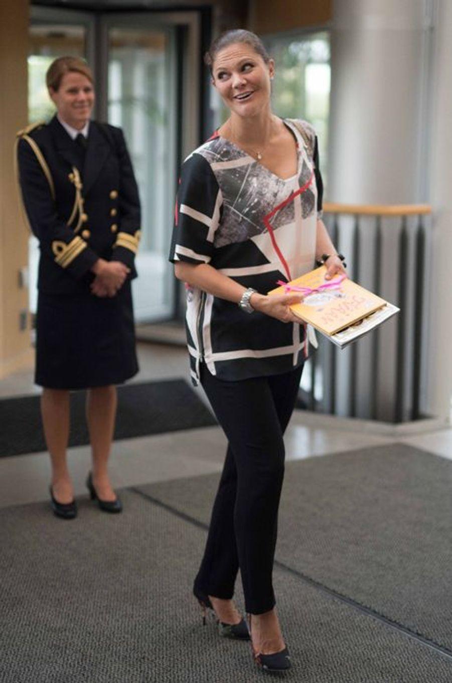 La princesse Victoria de Suède, le 10 septembre 2015