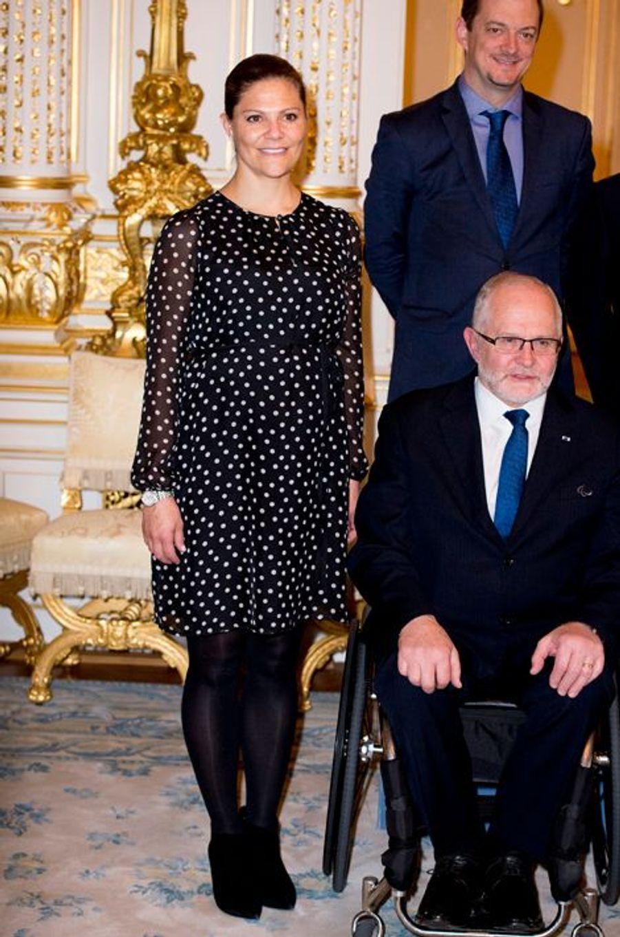 La princesse Victoria de Suède, le 15 octobre 2015