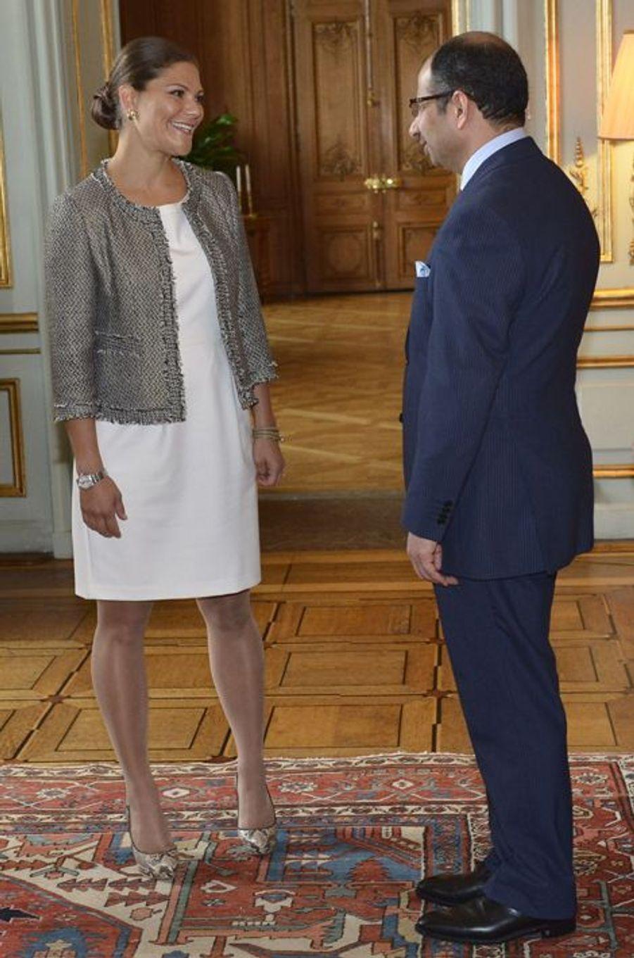 La princesse Victoria de Suède, le 17 septembre 2015