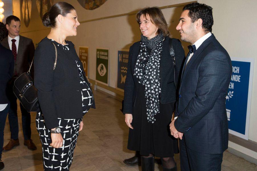 La princesse Victoria de Suède, le 18 janvier 2016
