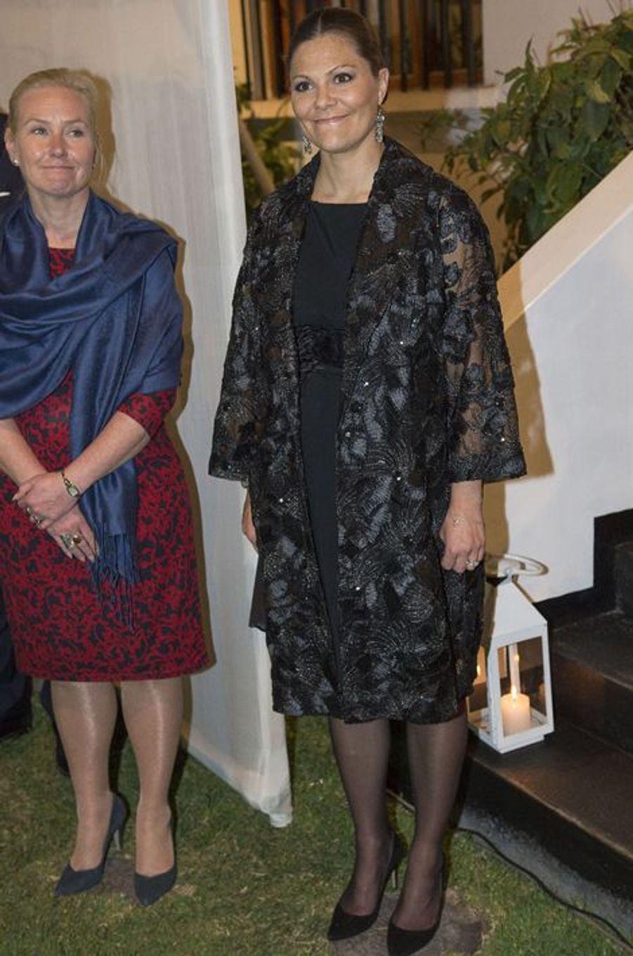 La princesse Victoria de Suède, le 19 octobre 2015