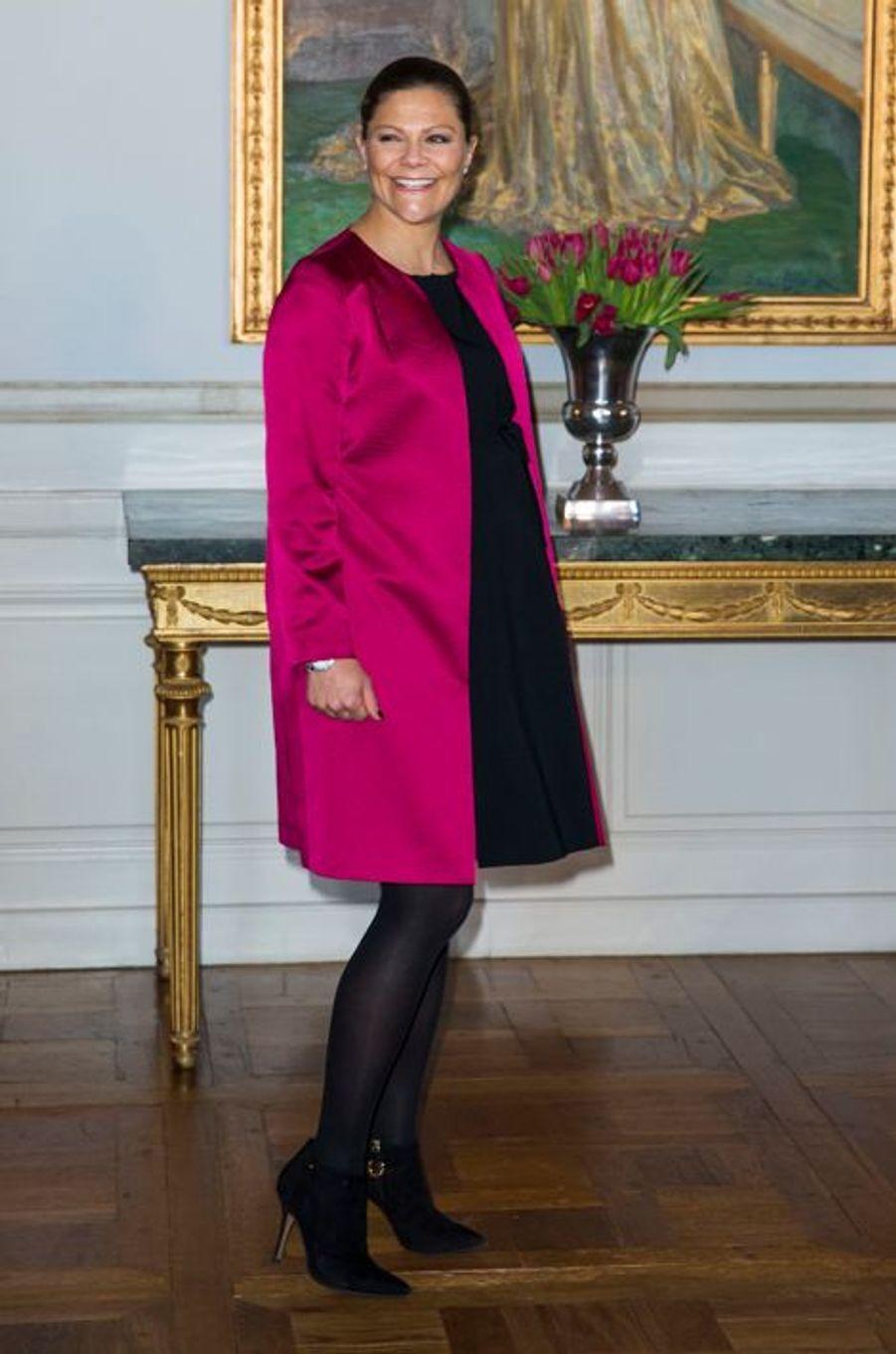 La princesse Victoria de Suède, le 22 janvier 2016