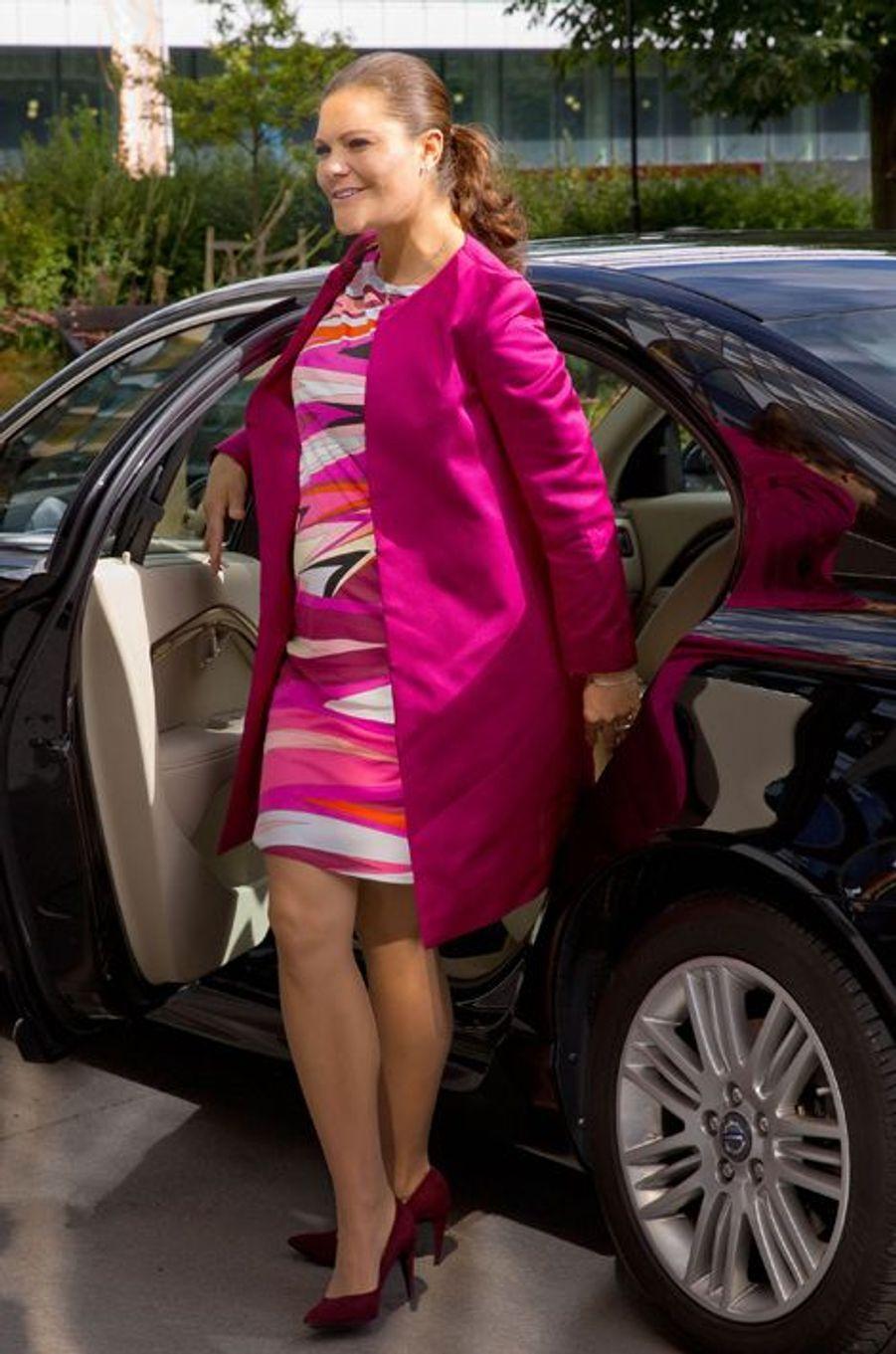 La princesse Victoria de Suède, le 22 septembre 2015