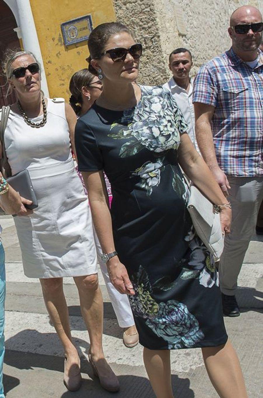 La princesse Victoria de Suède, le 23 octobre 2015
