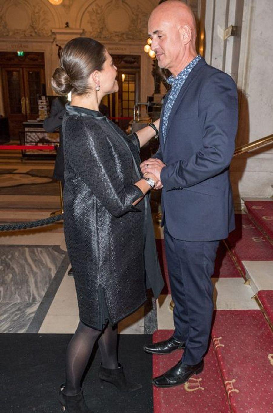 La princesse Victoria de Suède, le 27 janvier 2016
