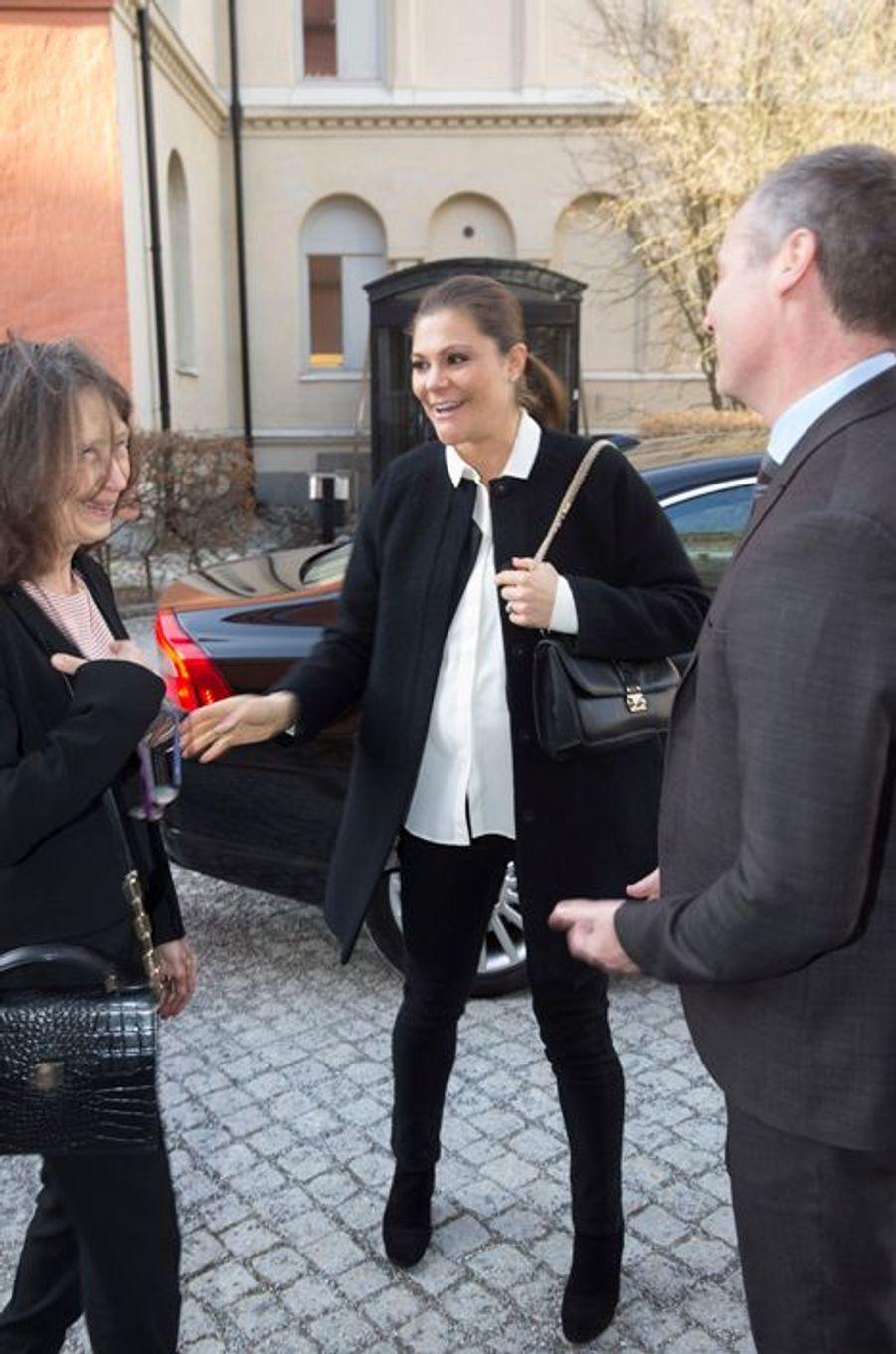 La princesse Victoria de Suède, le 5 février 2016