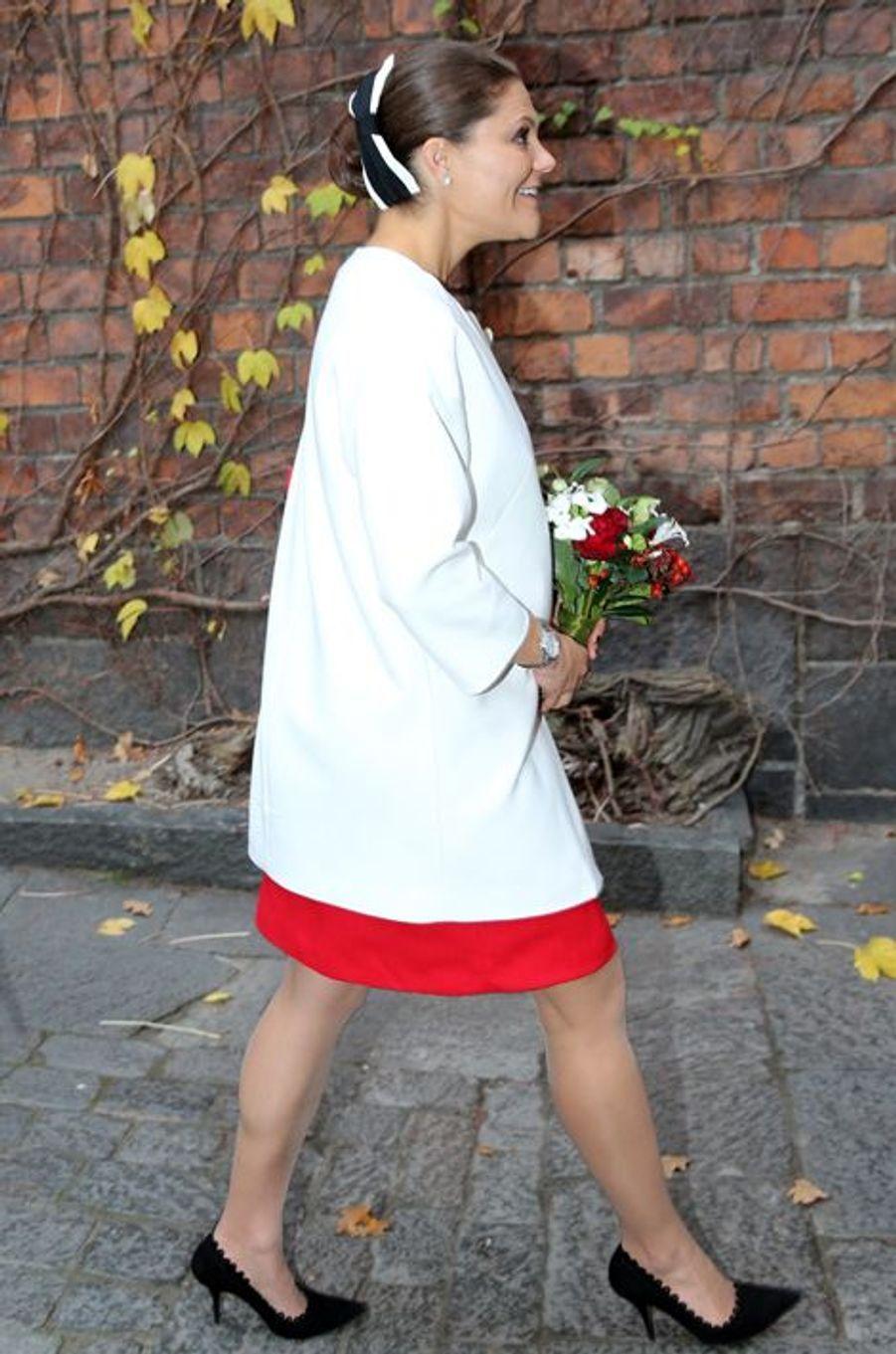 La princesse Victoria de Suède le 5 novembre 2015