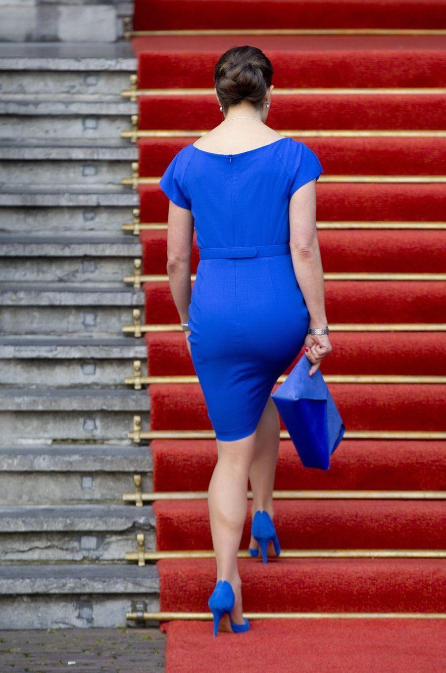 La princesse Victoria de Suède à La Haye, le 26 avril 2017