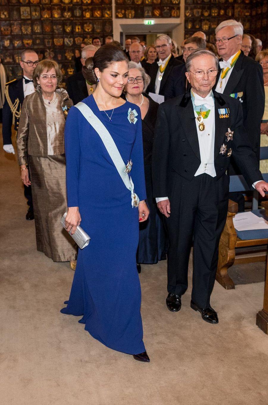 La princesse Victoria de Suède à Stockholm, le 24 avril 2017
