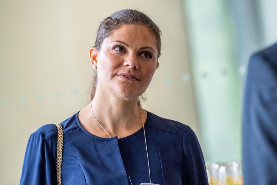La princesse Victoria de Suède à Gustavsberg, le 14 septembre 2017